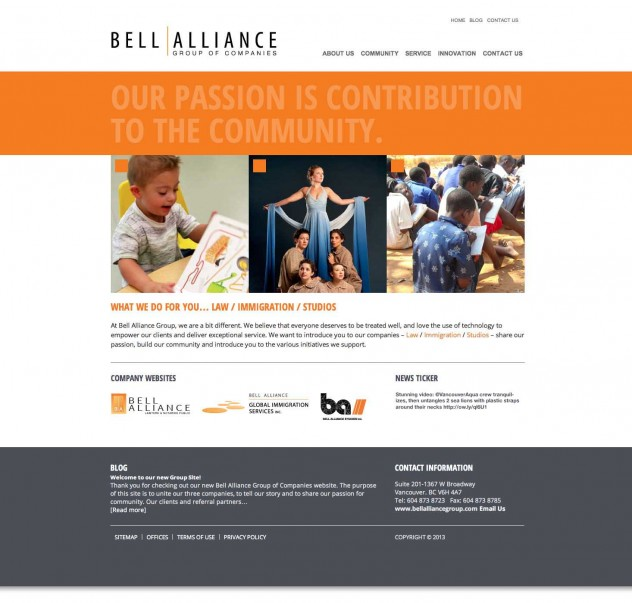Bell Alliance Group - Home