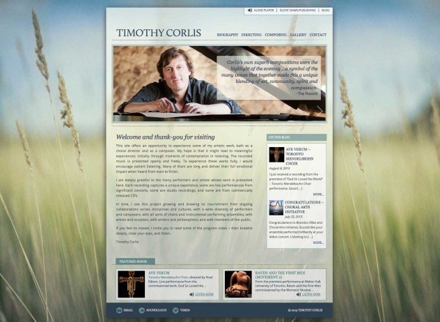 Timothy Corlis - Home Page