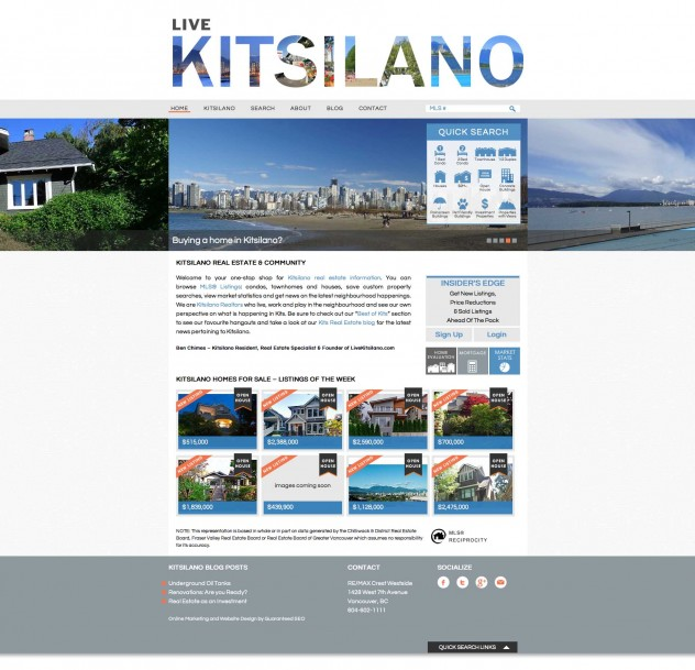 Live Kitsilano - Home Page