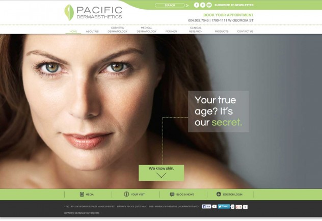 Pacific Dermaesthetics - Home Page