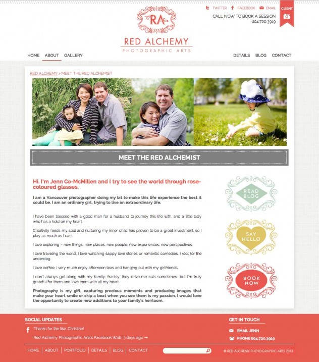 Red Alchemy - About