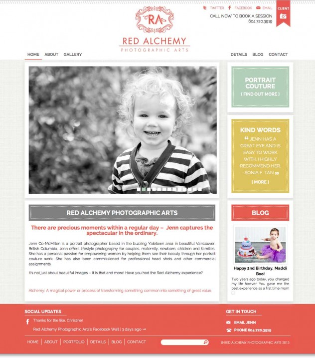 Red Alchemy - Home Page