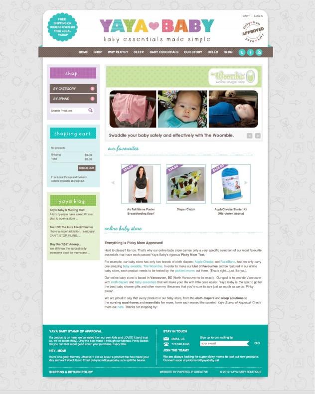 Yaya Baby - Home Page